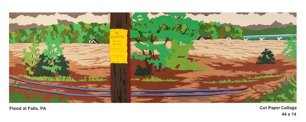 Flood at Falls, PA