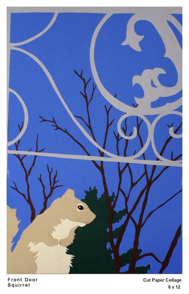 Front Door Squirrel