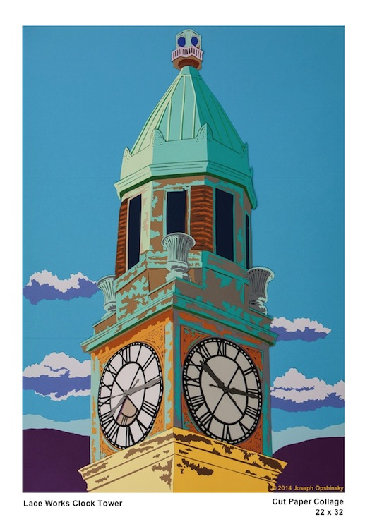 Lace Works Clock Tower 2014
