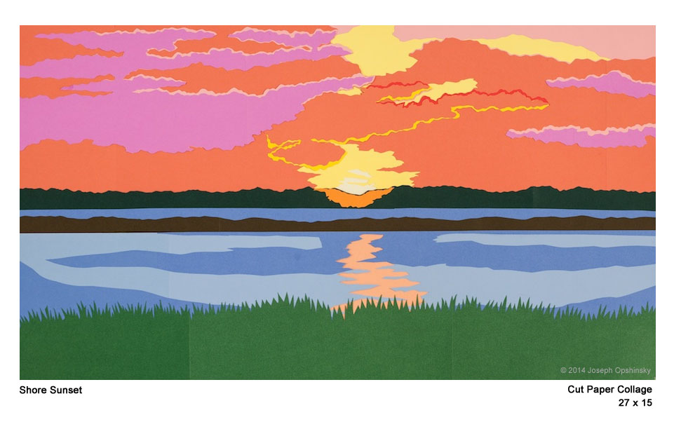 Shore Sunset 2014