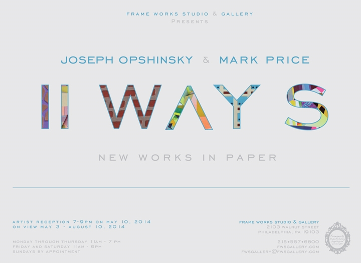 II WAYS: New Works in Paper