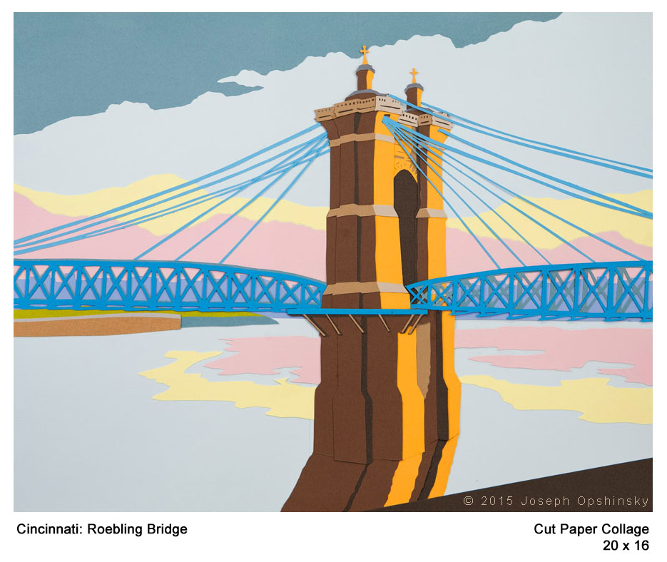 Cincinnati: Roebling Bridge (2015)