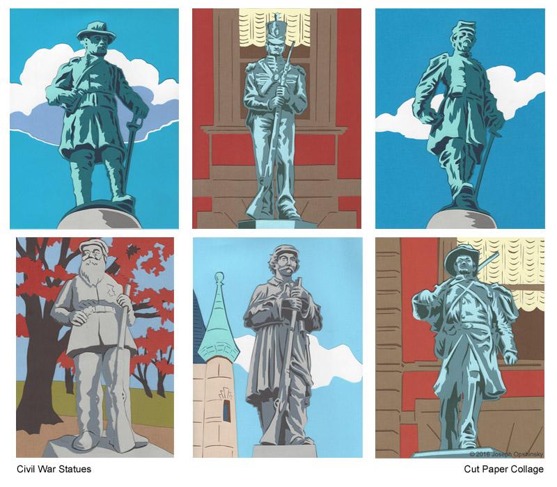 Civil War Statues (2016)