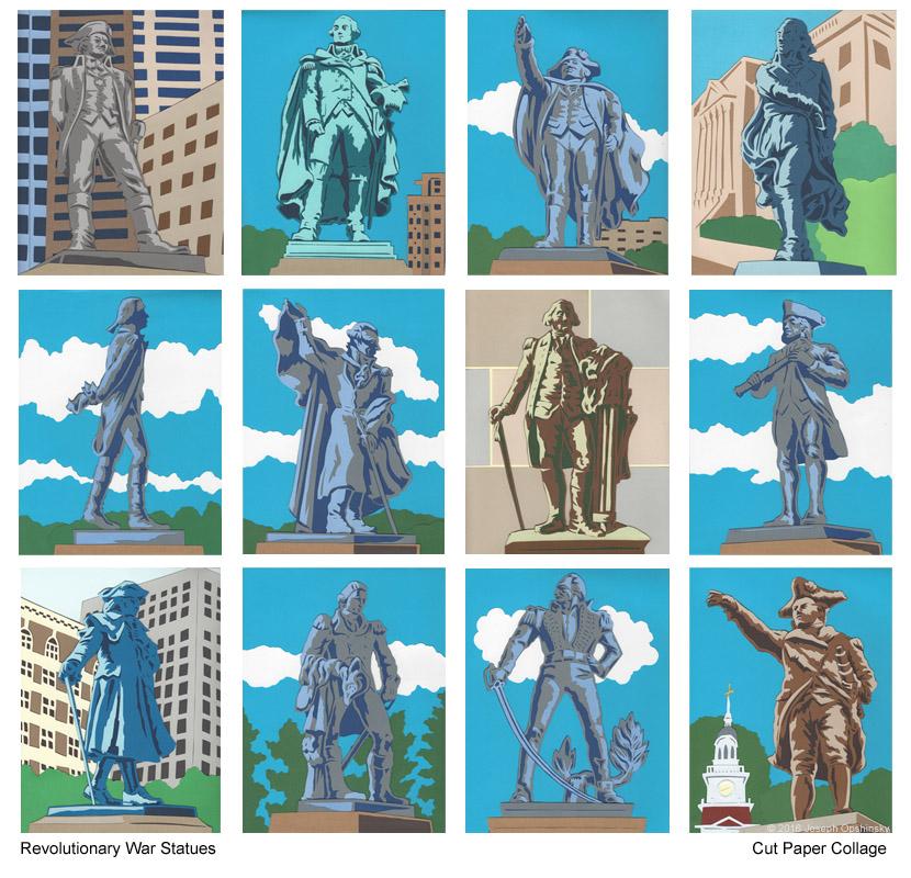 Revolutionary War Statues (2016)