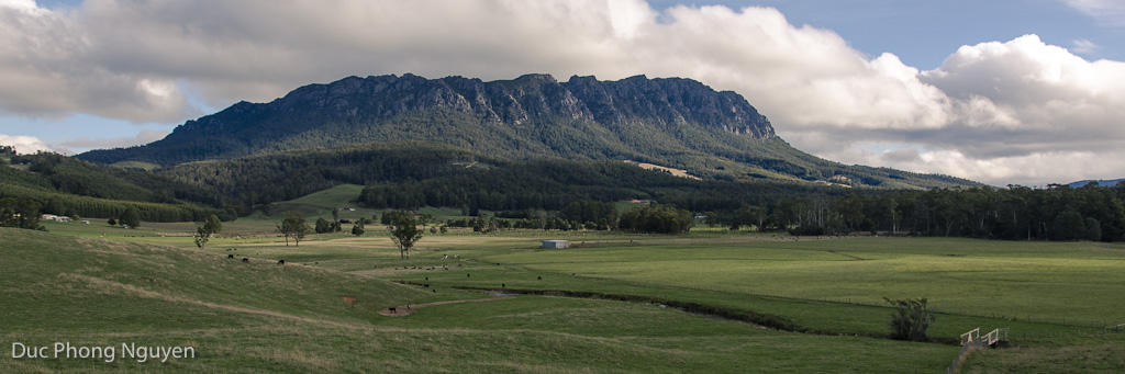 30.03.2013 Leaving Cradle Mountain, Tasmania