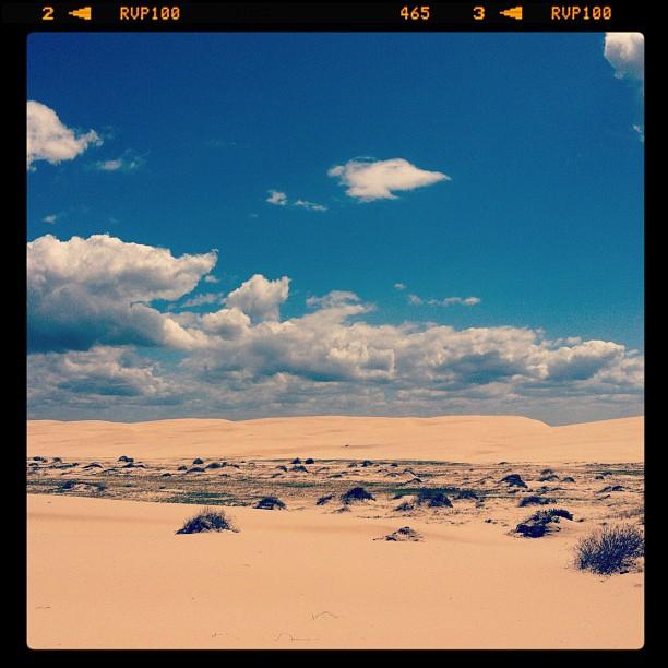 Stockton sand dunes (Pris avec  Instagram )