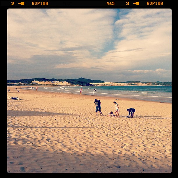 One Mile Beach, Port Stephens (Pris avec Instagram)
