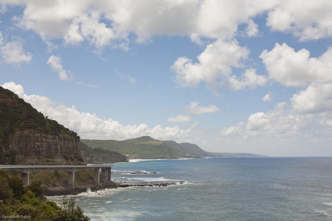 Grand Pacific Drive. Une des magnifiques routes de la East Coast!
