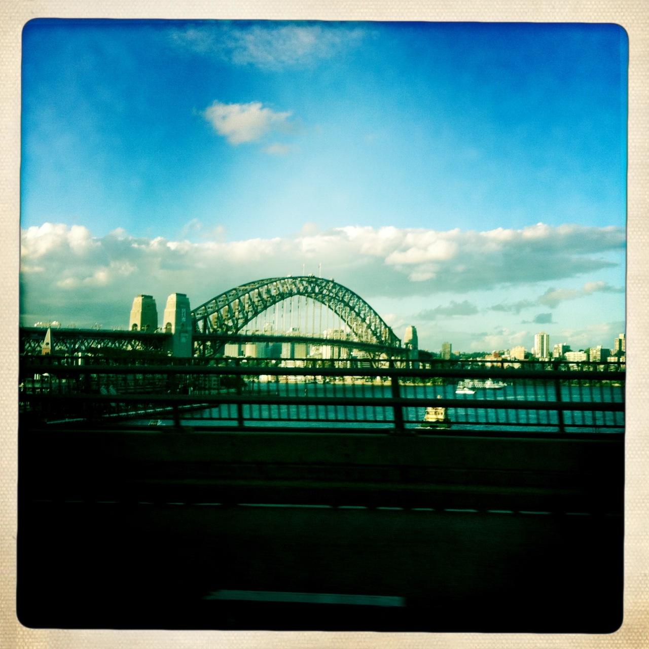 Harbour Bridge, première vision