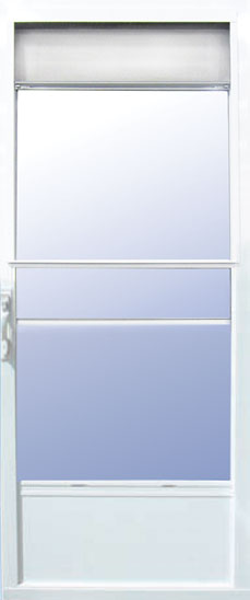 Storm doors stormtite windows for Storm door with roll up screen