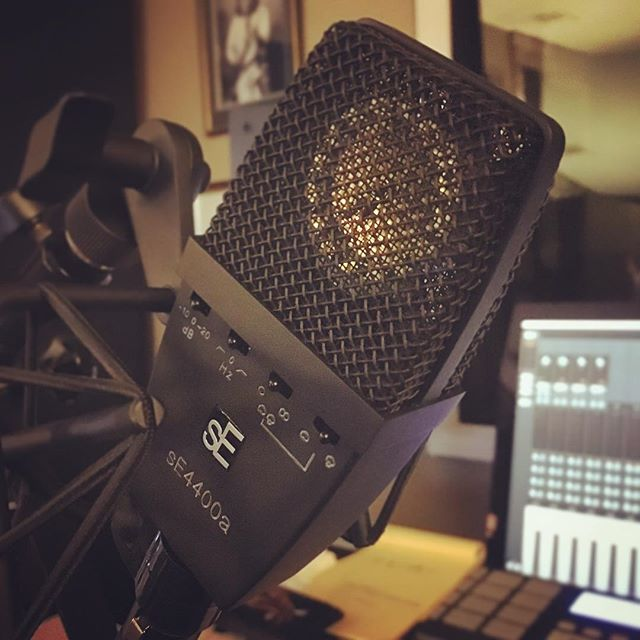 sorry for a random gear post... these mics are fantastic.  @seelectronics 4400a's. super quiet.  clear and non-hyped top end.