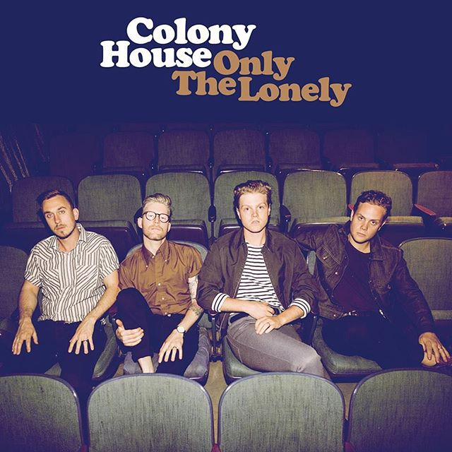 Last year, I had the pleasure of producing some more songs with one of my favorite bands, @colonyhouse .  I went into this record with more intentionality than I'd ever had on anything else as a producer:  It was going to be flawed and honest... I wanted them to track at the same time through an API desk because they're good enough to do so... I wanted @superbuck to engineer because he's the best... I didn't want to punch vocals very much because Caleb can sing... analog synths only, and no MIDI on anything... see how many legendary NBA basketball players' names we can record and have in the final mixes... stuff like that.  We rehearsed and then hit record on the craziest and boldest stuff we could come up with.  They brought their best, and they wrote some wonderful songs.  I did my best, too, and @jeremylutito produced some more awesome songs to complete the record.  All credit goes to a great band and great songs at the end of the day.  I hope you don't hear my production at all and I hope you enjoy listening as much as we did making it.
