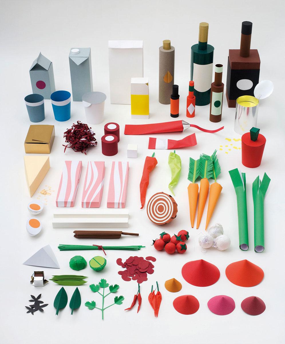 Illustration til Enroute Magazine, til en opskrift på Chili Con Carne, der indeholdt mere end 50 ingredienser.
