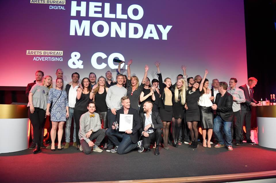 Gla'e mennesker, som gør det irriterende godt. Tillykke med sejrene! &Co - årets reklamebureau, mine damer og herrer.