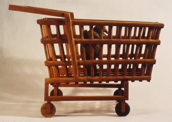 Audobon Shopping Cart by Rob Loebell
