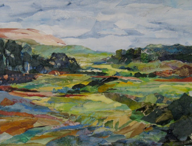 Rolling Hills by Hannah Libman