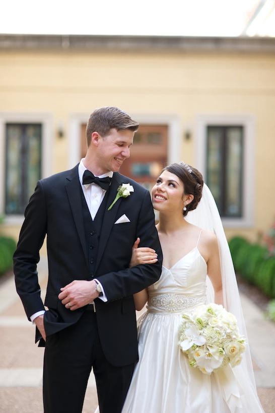 Kristin Kapolas Davis, Bride