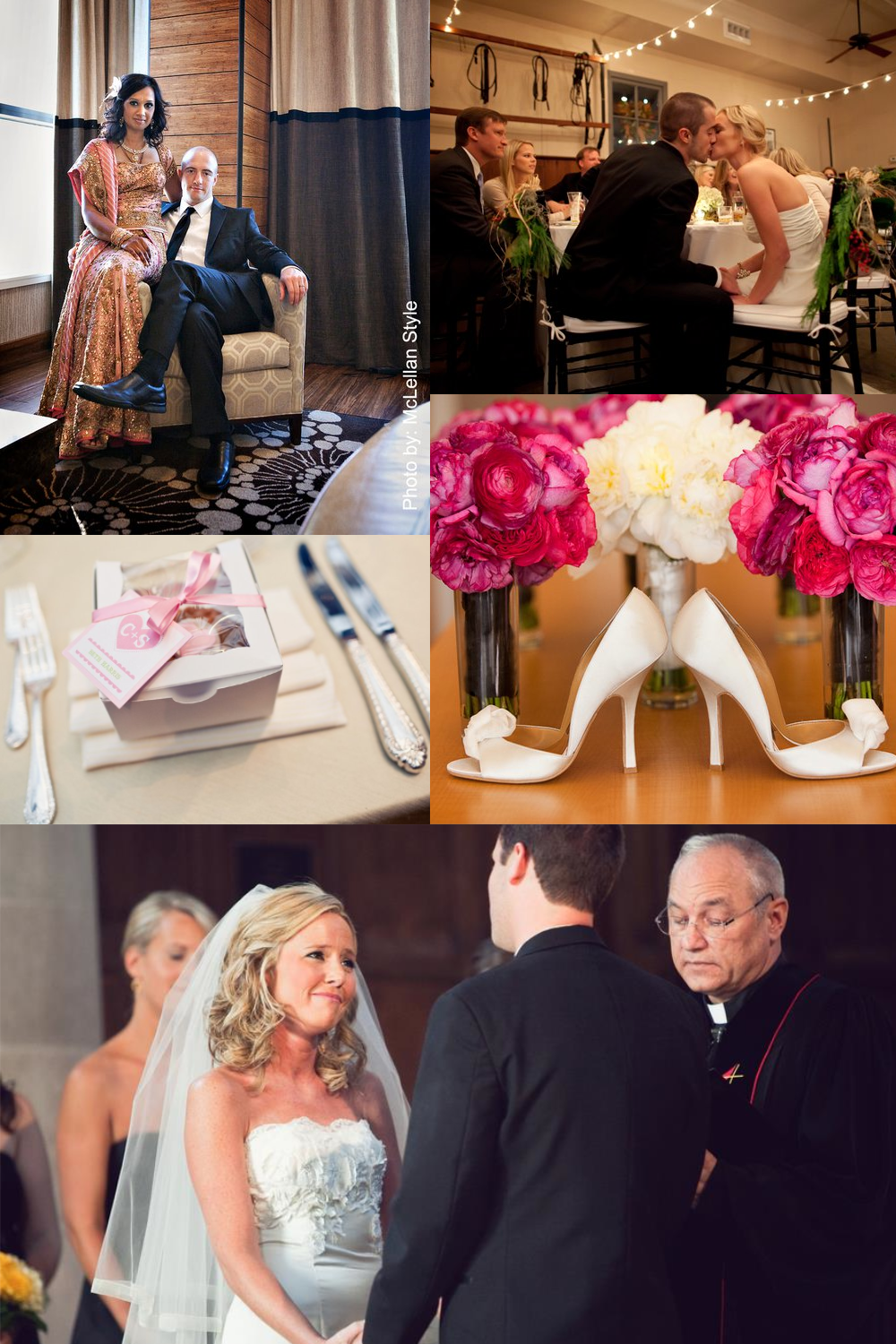 Some of my favorite weddings by A Delightful Day!