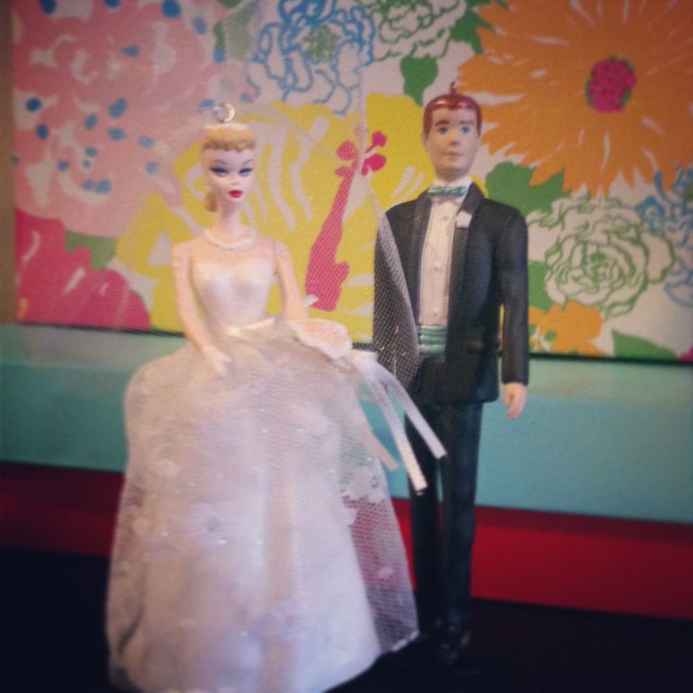 My wedding cake toppers made their reappearance after a seven-month hiatus!