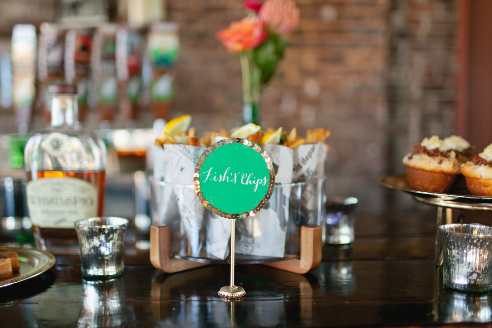 Kelly Dellinger Events irish wedding food