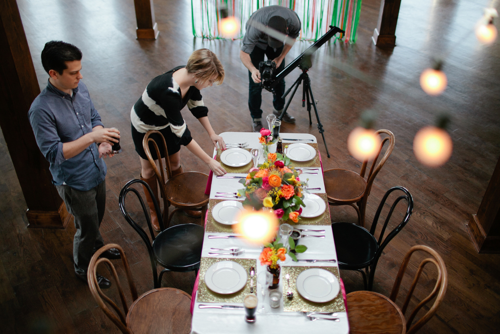 behind the scenes kelly dellinger events styling