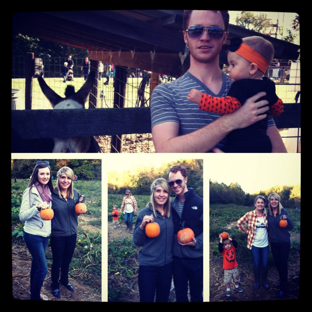 Last year's fall festival festivities:)