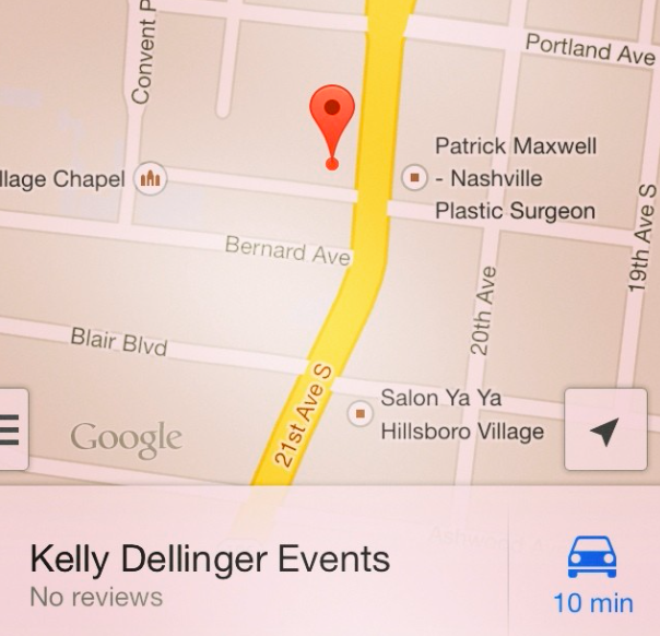 I'm on  GoogleMaps , y'all! If you've had the opportunity to work with or encounter me in a businessy environment, please  review me !