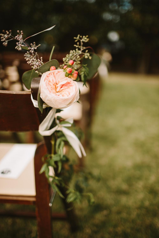 aisle marker garden rose