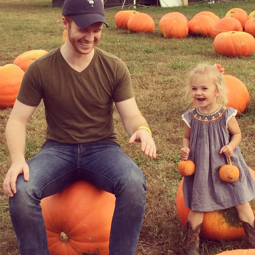 One of my favorite moments this past month: going to the fall festival with family, as per tradition. Poppy (our niece) was cracking us up with her bluegrass music dancing!