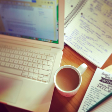 Coffee & lists. So many lists.