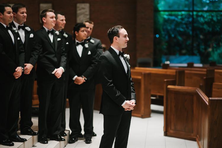 catholic wedding groom