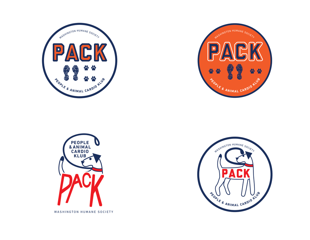 I'm currently working on a logo for the PACK program at WHS with the Development and Systems Manager.