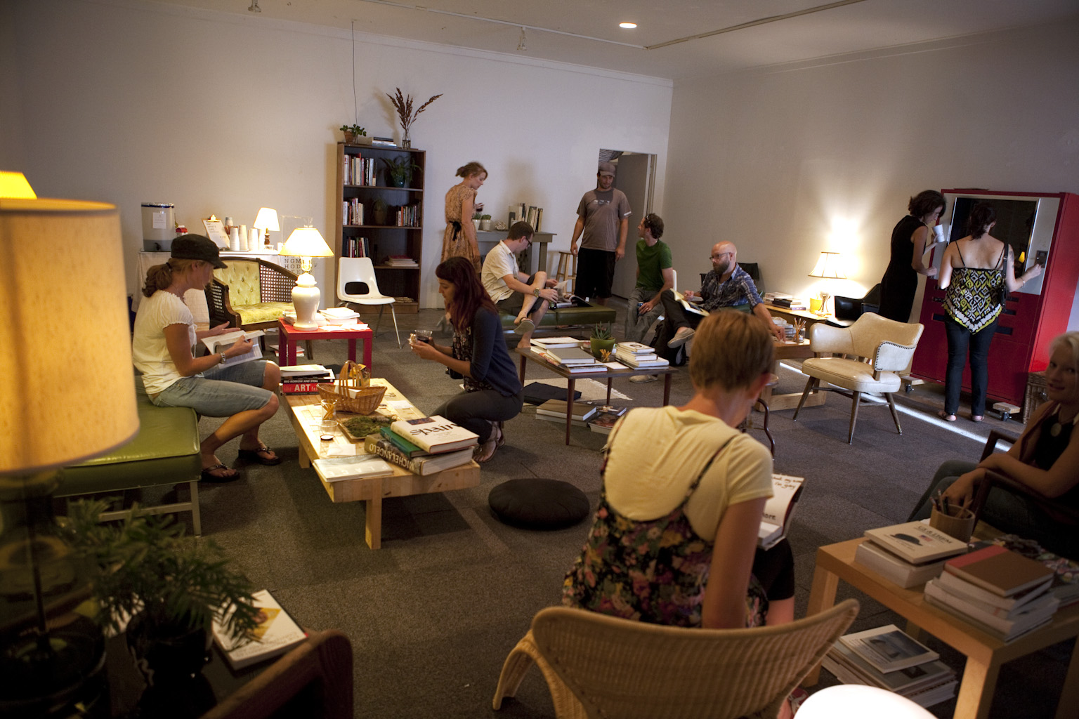 Artist Living Room — Analog Analogue