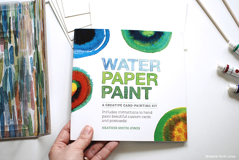 new water paper paint card painting kits heather smith jones