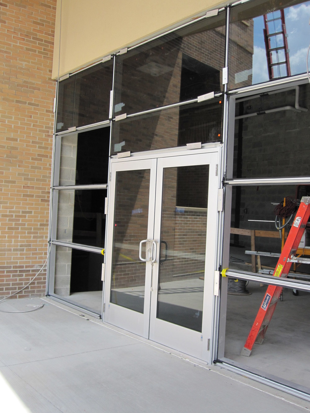 Storefront Entry Glazing