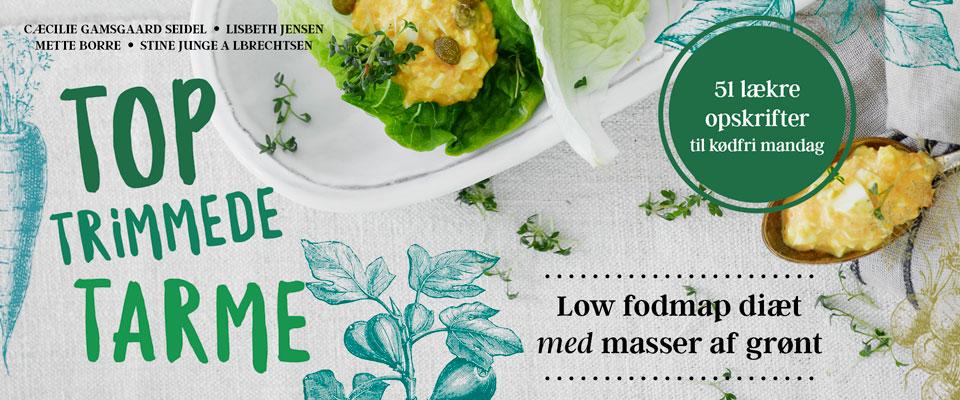 Helt ny BOG om Low FODMAP diet, udkommet på Politiken den 10.5.17