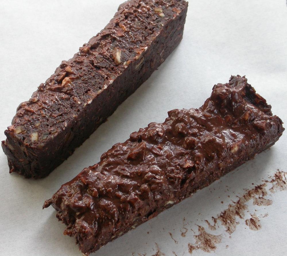 Raw chokoladekage uden sukker