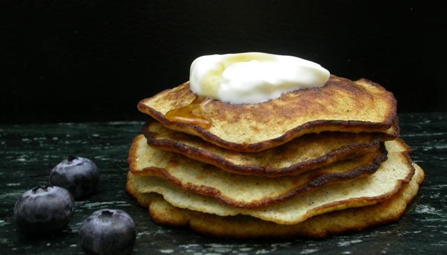 Glutenfri pandekager uden tilsat sukker