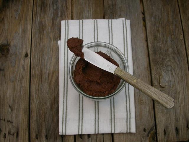 Nødde-spread uden tilsat sukker