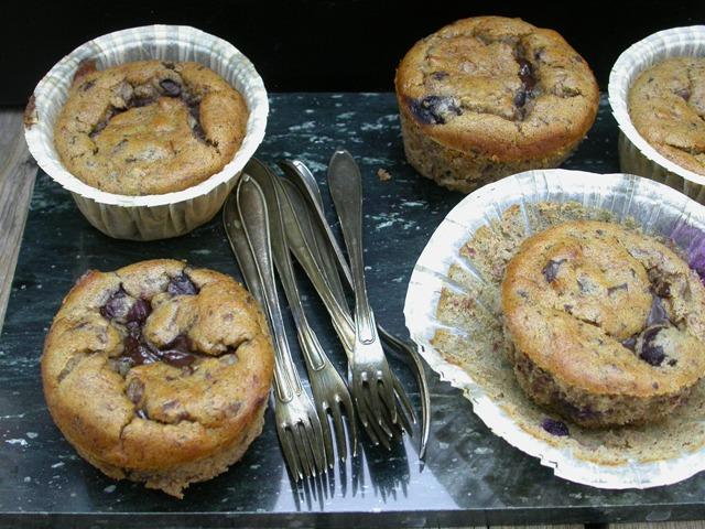 Muffins uden mel og sukker
