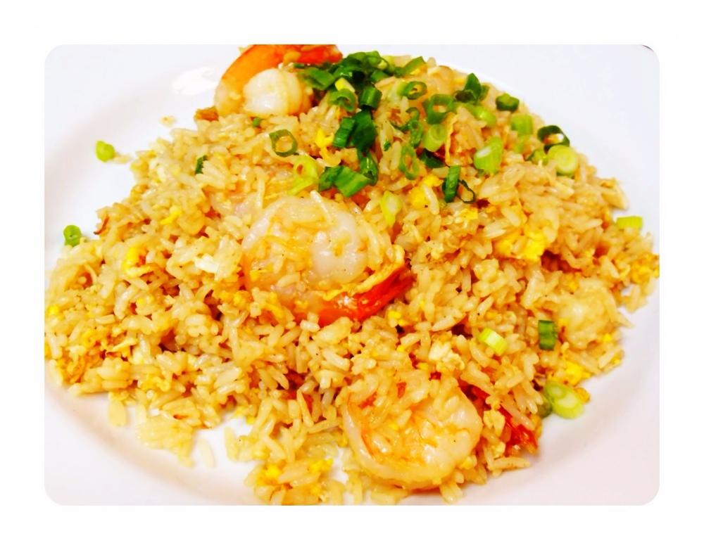 Thai Fried Rice Shrimp