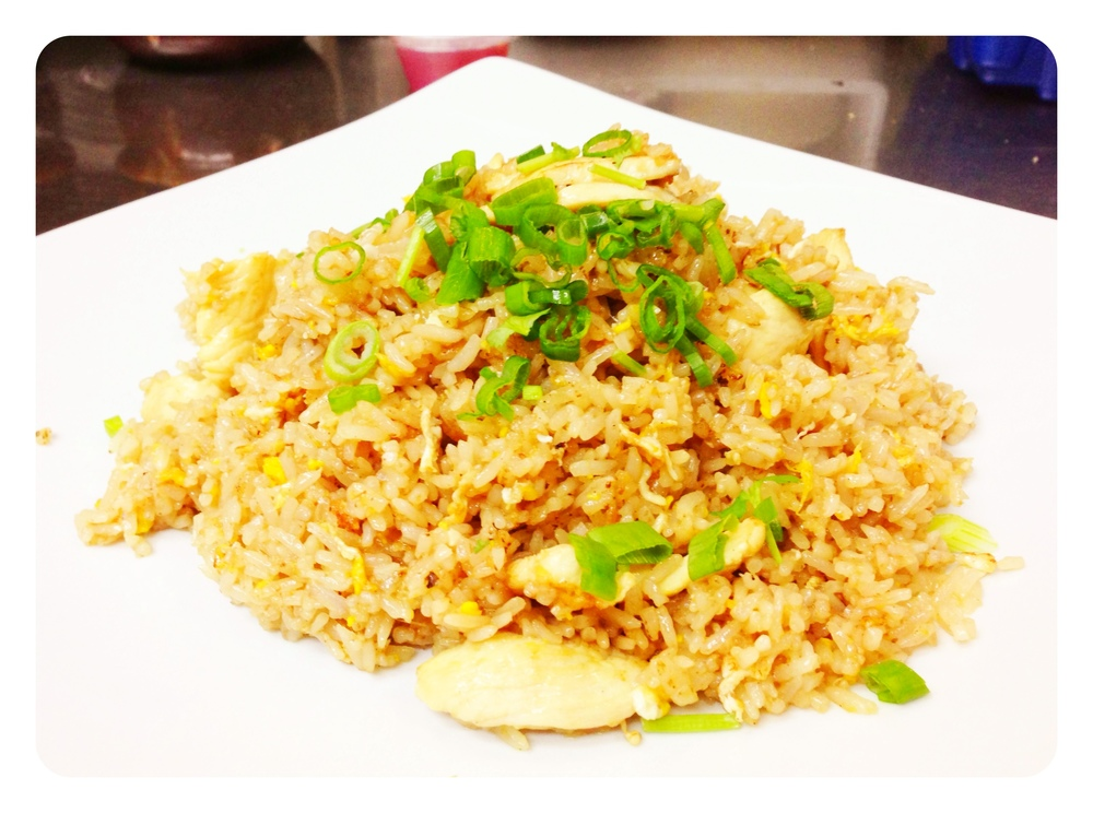 Thai Fried Rice Chicken