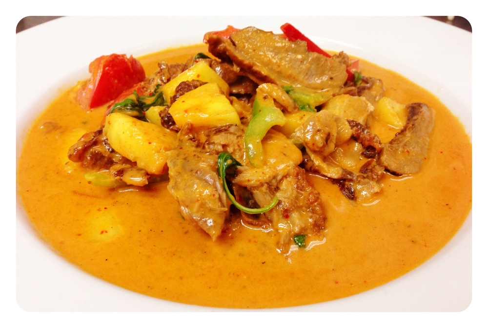 Thai Curry Duck