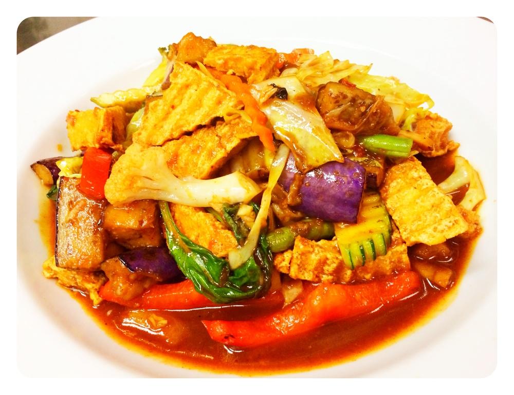 Basil Vegetables & Tofu