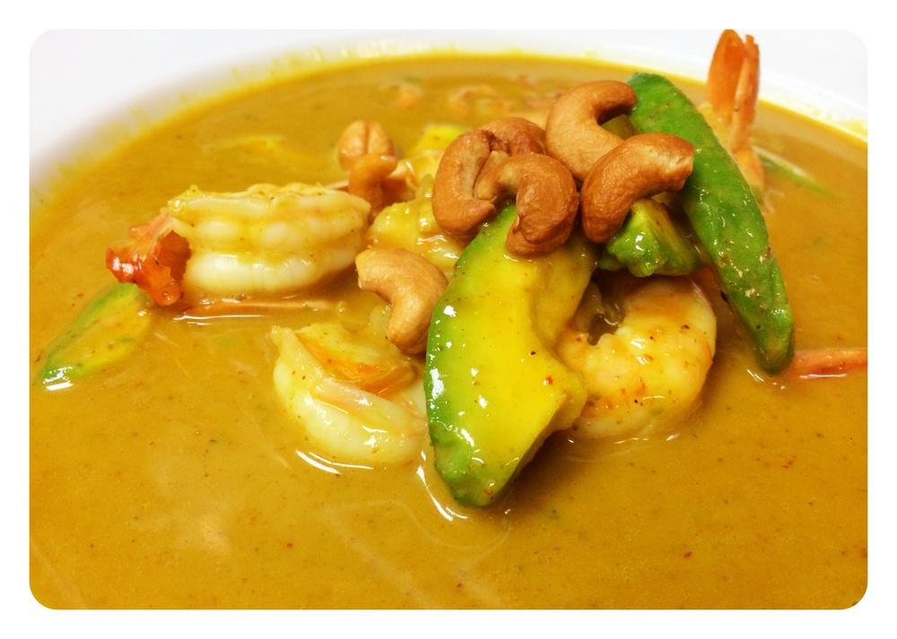 Massaman Curry Shrimp