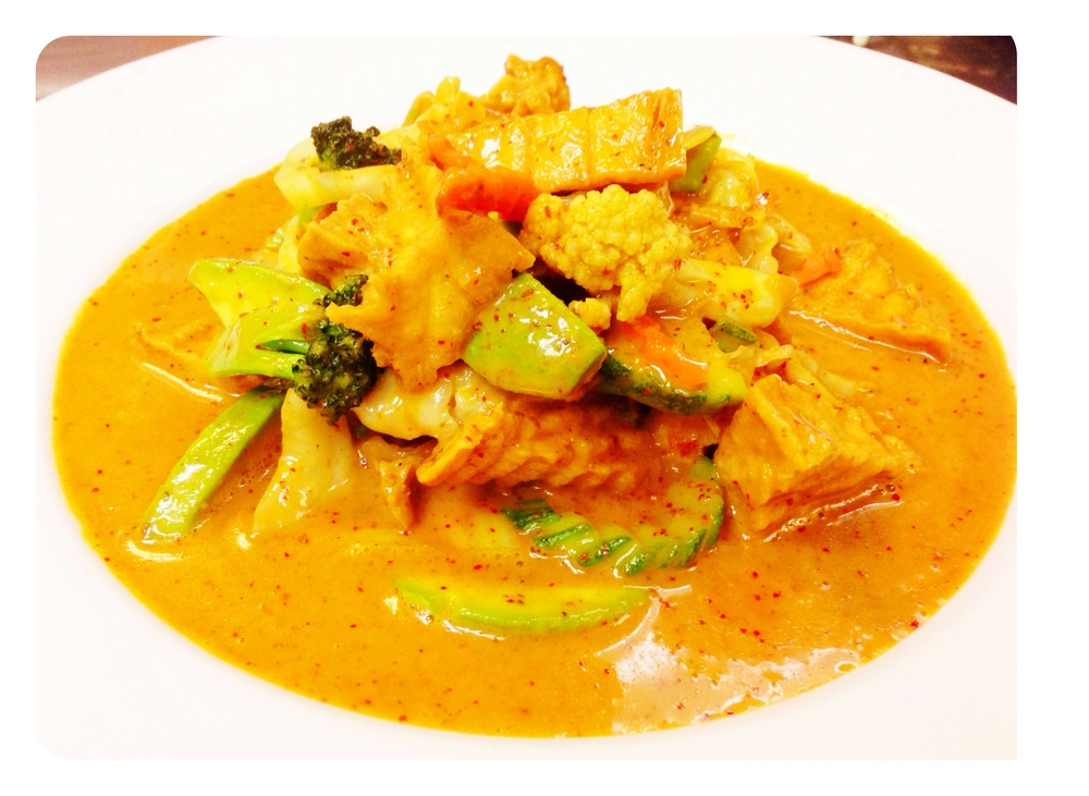 Red Curry Vegetables and Tofu