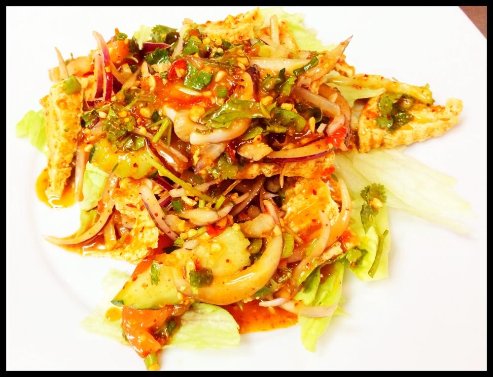 Yum Tofu Salad