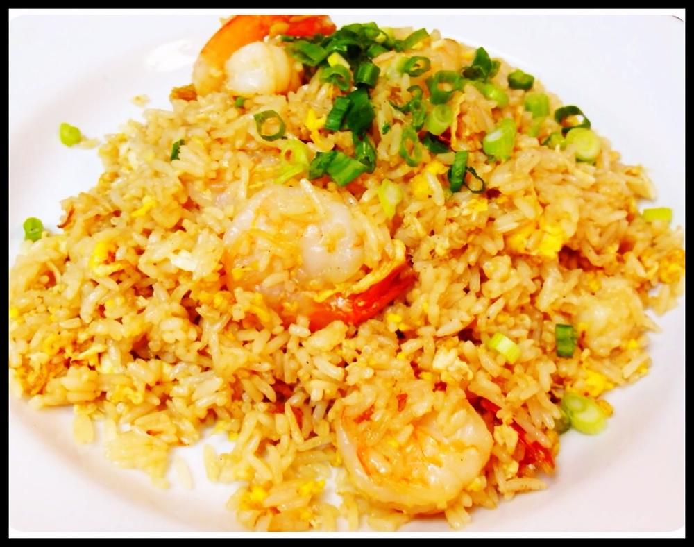 Fried Rice Shrimp
