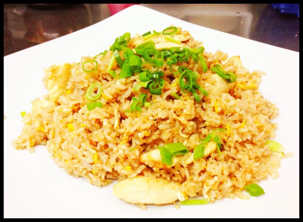 Fried Rice Chicken