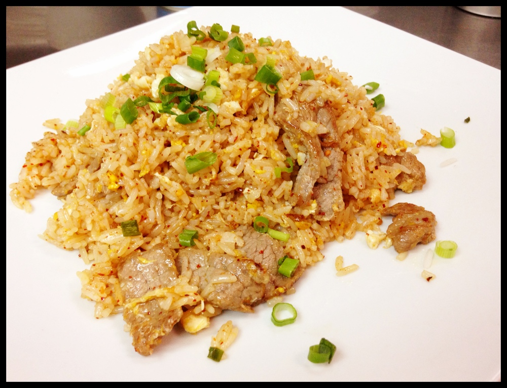 Fried Rice Beef